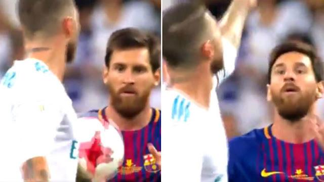 Bị biến thành trò cười, Messi chửi Ramos