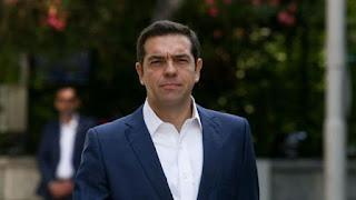Συνεχής ενημέρωση του πρωθυπουργού για τη φωτιά στην Εύβοια