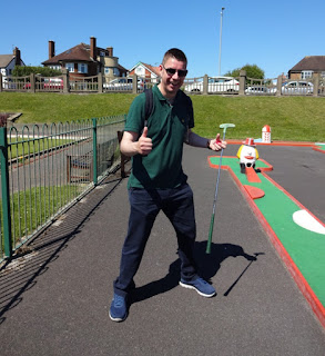 Crazy Golf in Lytham Saint Annes