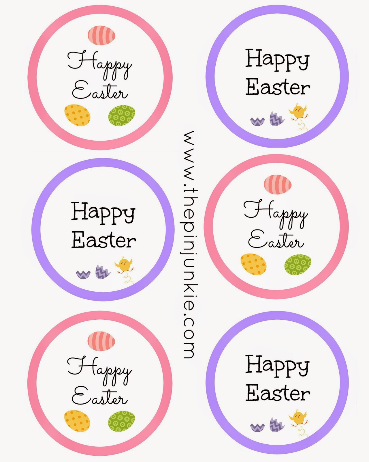 The Pin Junkie Easter Mason Jar With Printable Tags