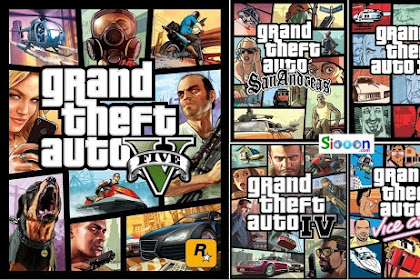 Free Download Game Grand Theft Auto (GTA) Collection for PC Laptop