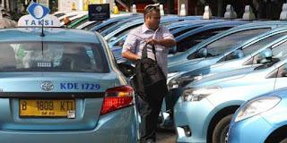 Gratis, Taksi Bluebird Banyak tak Beroperasi