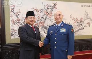 Prabowo - Jenderal Xu Qiliang