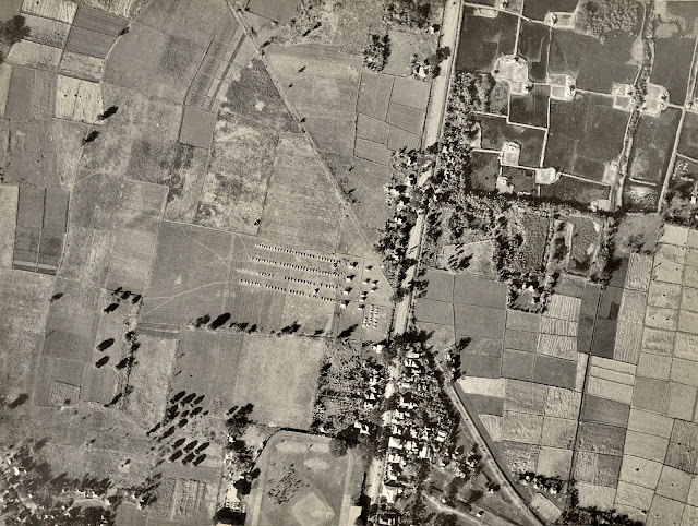 Aerial Photograph of United States Army maneuvers in Batangas, 1930.  Image source:  United States National Archive.