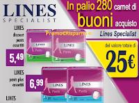 Logo Prova & Vinci 280 buoni spesa Lines Specialist da 25 euro