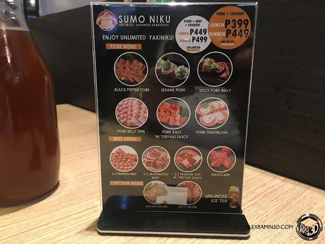 sumo-niku-meat-options