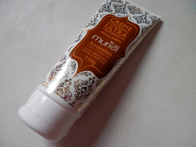 Resenha: Creme corporal ultrahidratante para mãos e corpo - Amêndoa com colágeno da Muriel