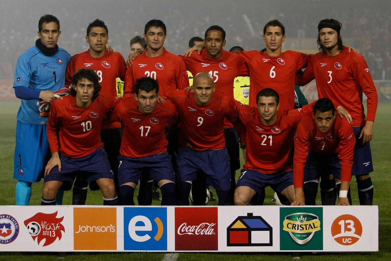Formación de Chile ante Israel, amistoso disputado el 30 de mayo de 2010