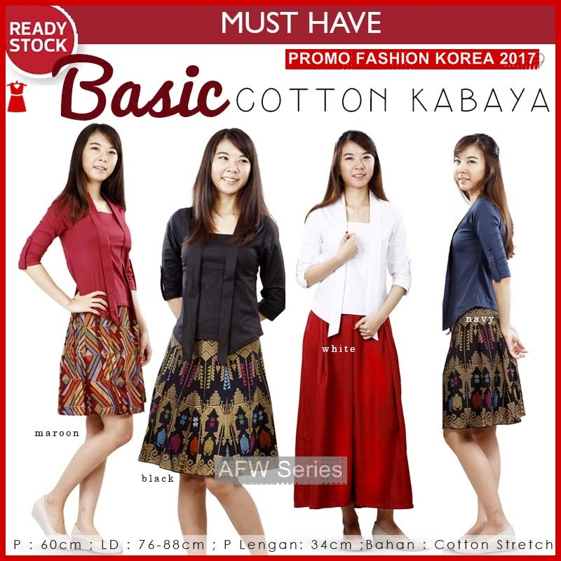 BAMFGW100 Cotton Top Basic Wanita PROMO BMG