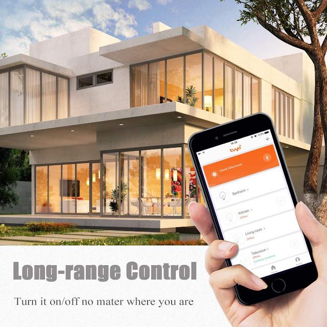 LOHAS Smart Bulb Long-Range Control