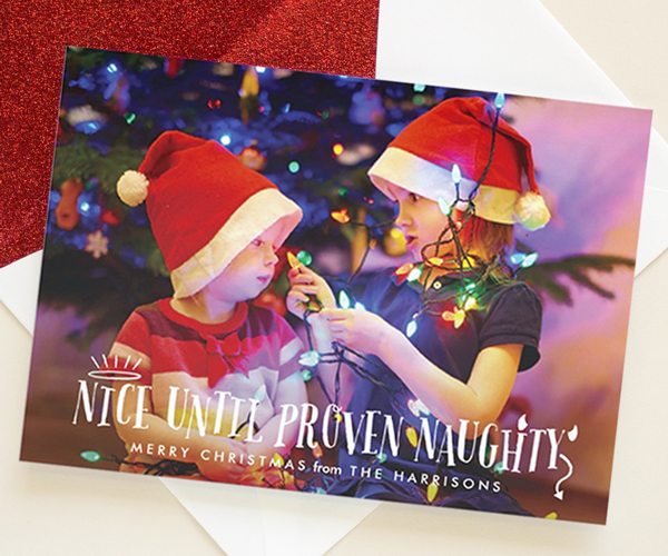 funny holiday photo cards