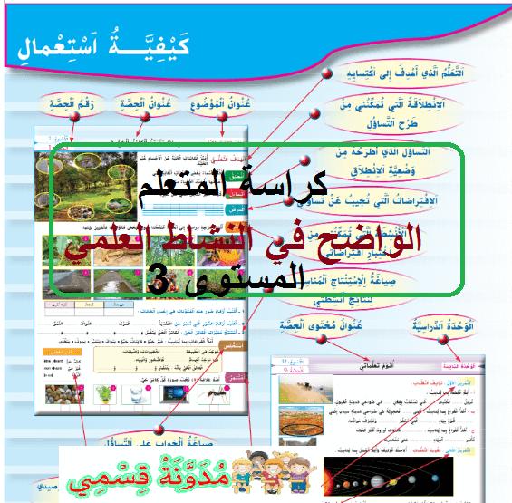 تحميل كتاب التلميذ الواضح في اللغة العربية المستوى الرابع pdf