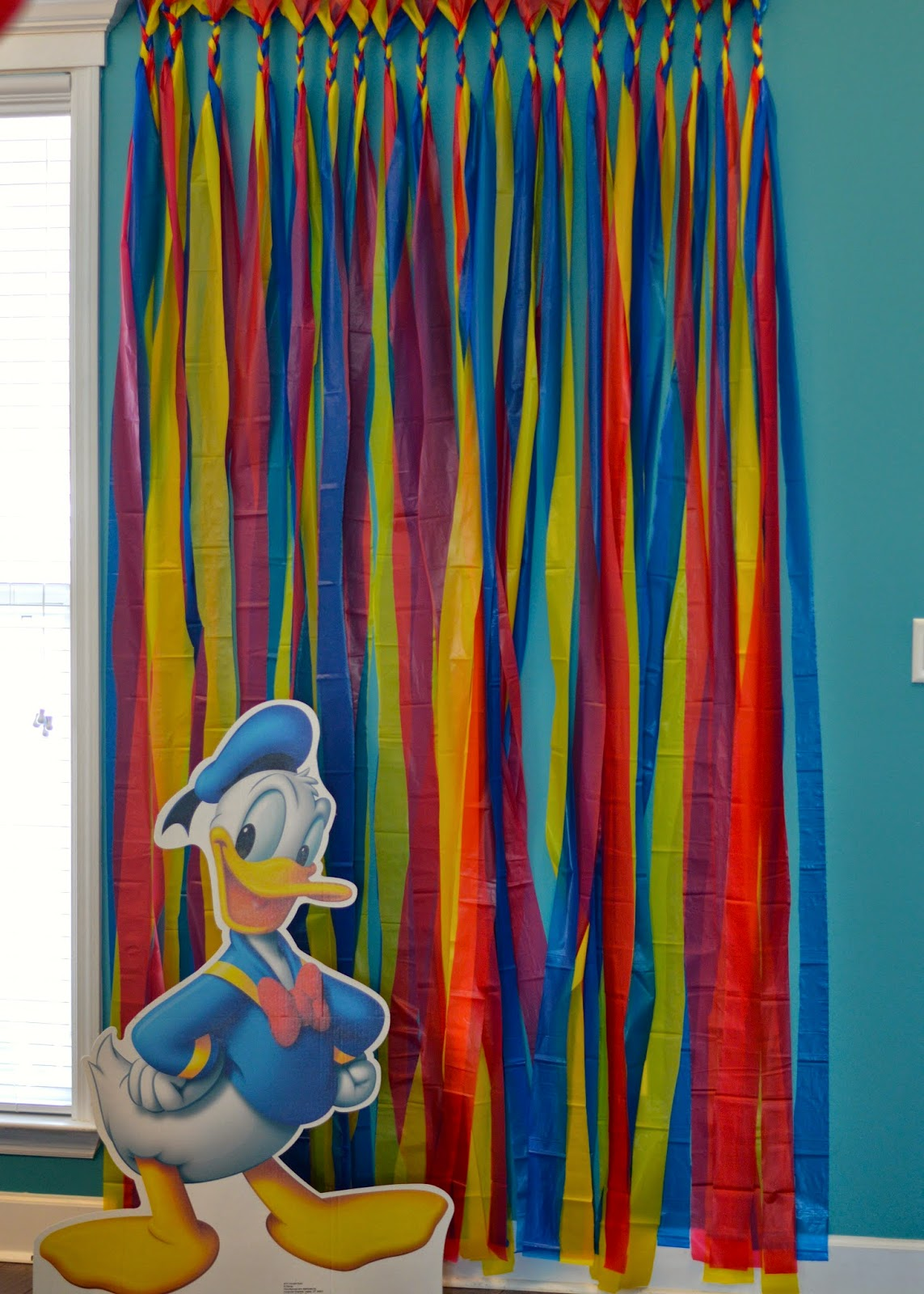 The Journey Of Parenthood Donald Duck Birthday Party Decor