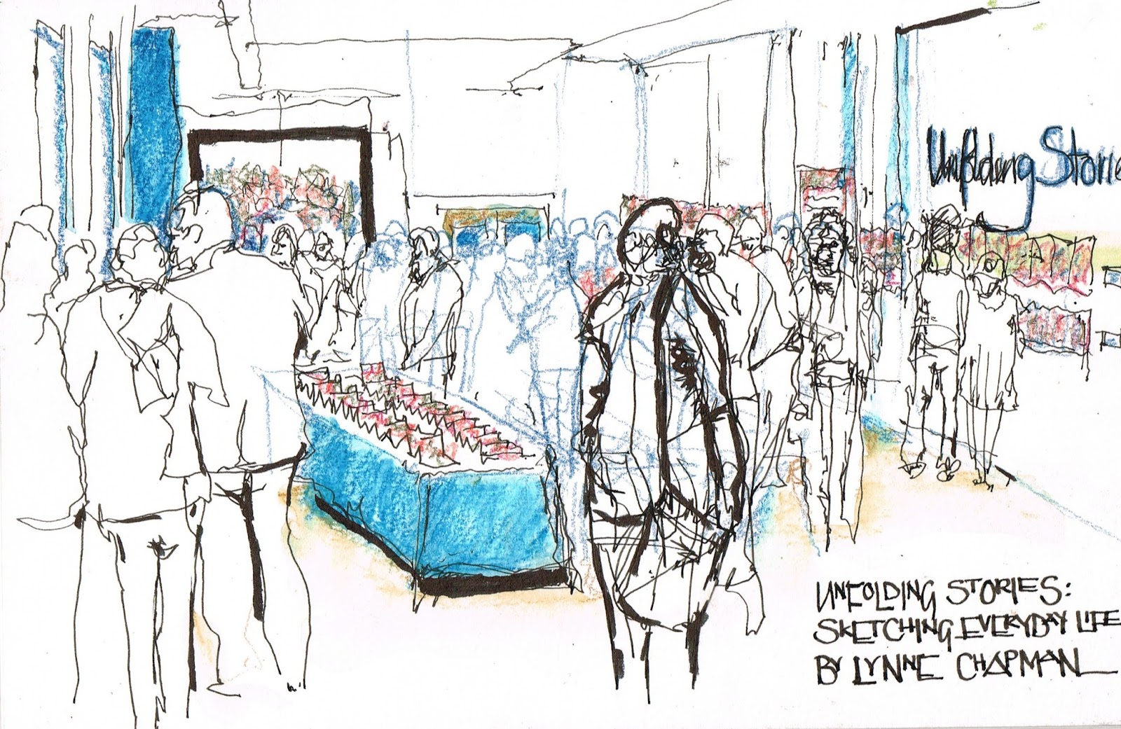 USkManchester2016: Day3 Variety is the spice of Life | Urban Sketchers