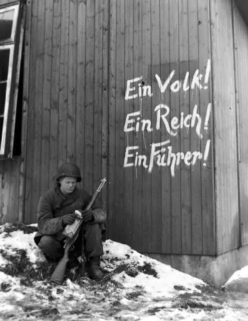 """One people. One empire. One leader"" - Adolf Hitler. Hobgoblin MarchMatron.com"