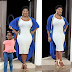 Mercy Johnson's daughter photobombs her photoshoot, and it turned out like this