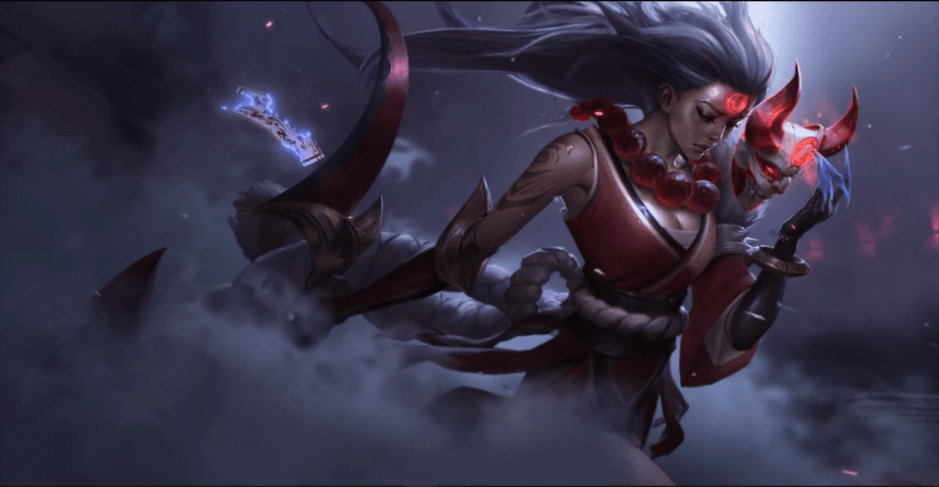 Blood Moon Diana 1080P [Wallpaper Engine Free]