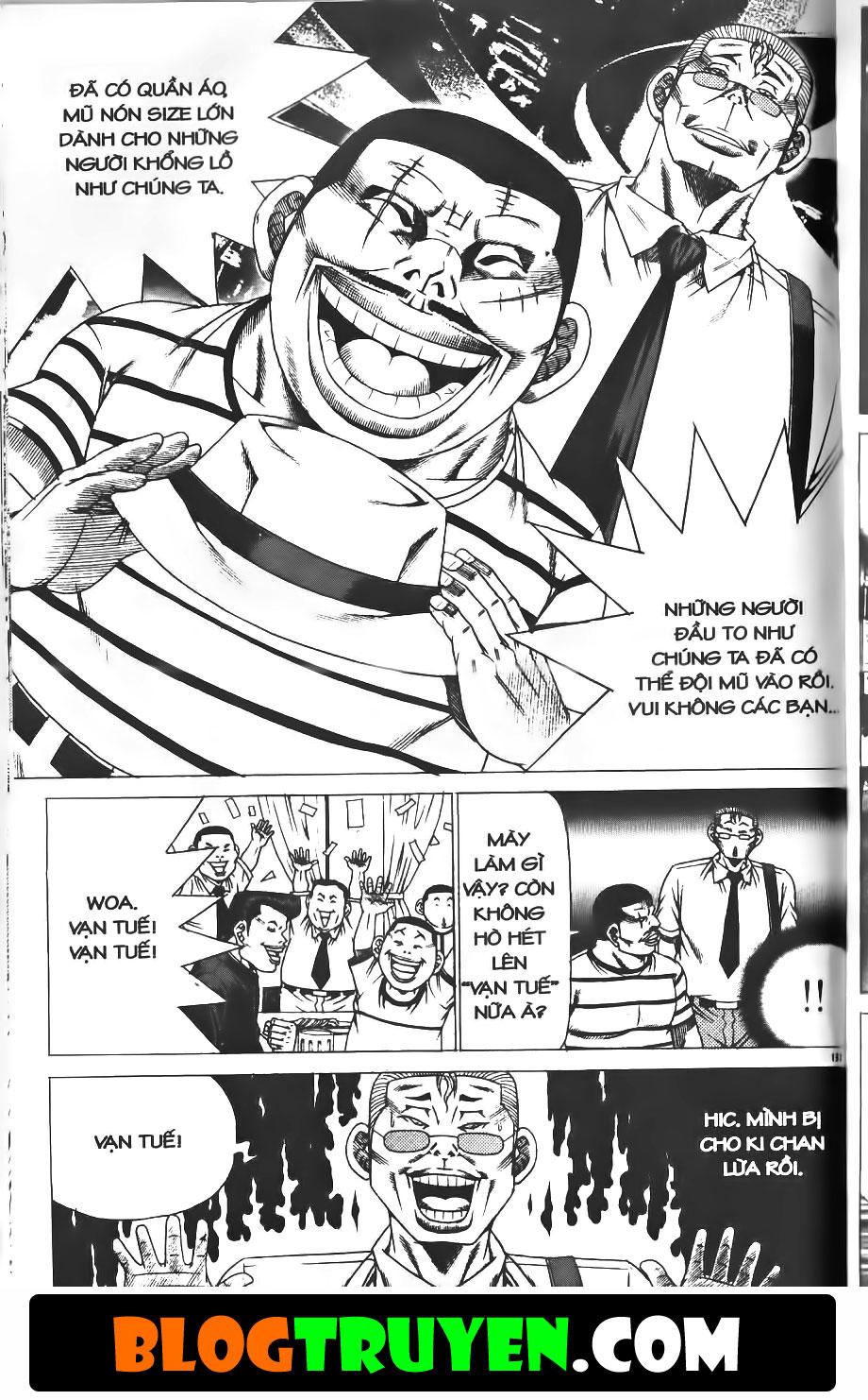 Bitagi - Anh chàng ngổ ngáo chap 182 trang 3
