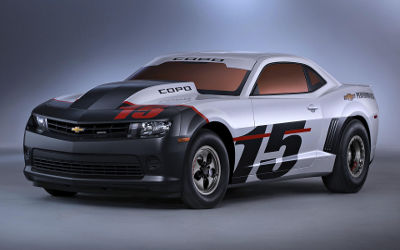 Chevrolet Camaro Copo Sport - Fond d'écran en Ultra HD 4K 2160p