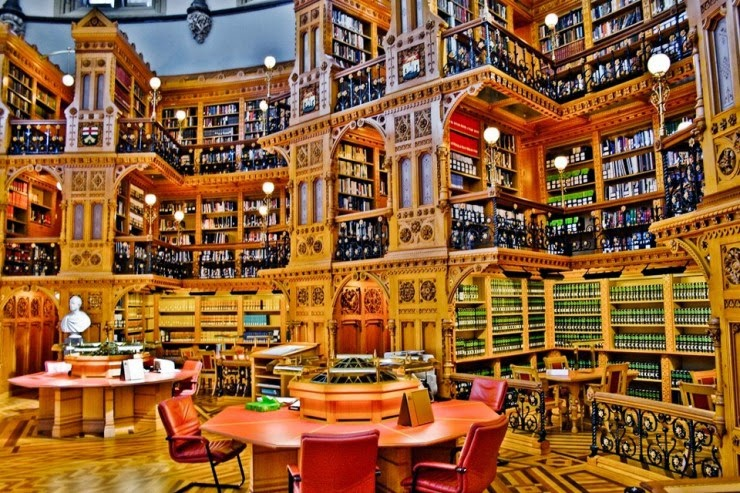 10. Canadian Library of Parliament, Canada - 31 Incredible Libraries and Bookstores Around the World