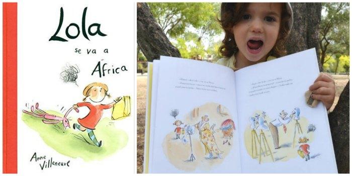 cuentos infantiles crianza respetuosa, con apego Lola se va a africa