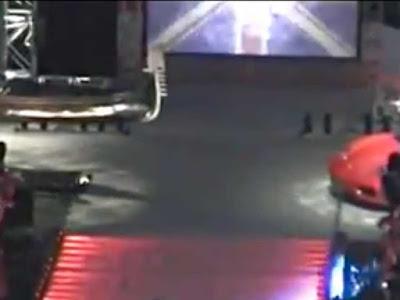 La gondola e la Ferrari della tappa milanese di Smackdown 2007