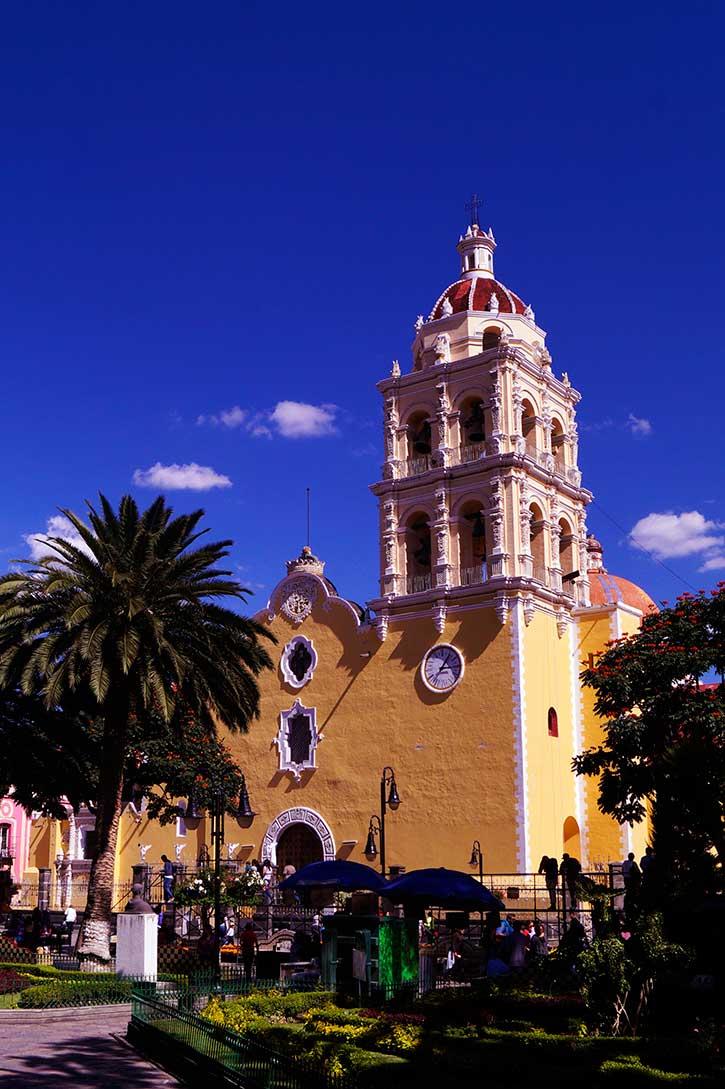 La Parroquia de la Natividad comenzó a construirse en 1644.