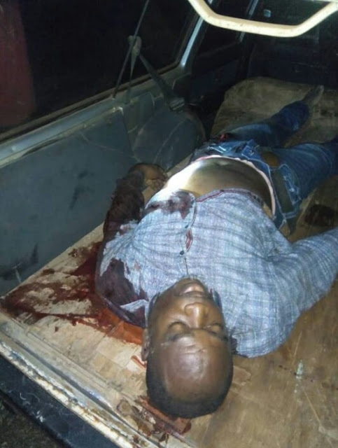 Suspected assassins gun down son of first indigenous paint manufacturer in Nigeria, abduct his alleged girlfriend in Imo