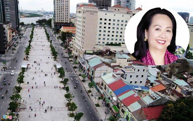 Tập đoàn gia đình của bà Trương Mỹ Lan đang có 5 dự án trên phố đi bộ Nguyễn Huệ