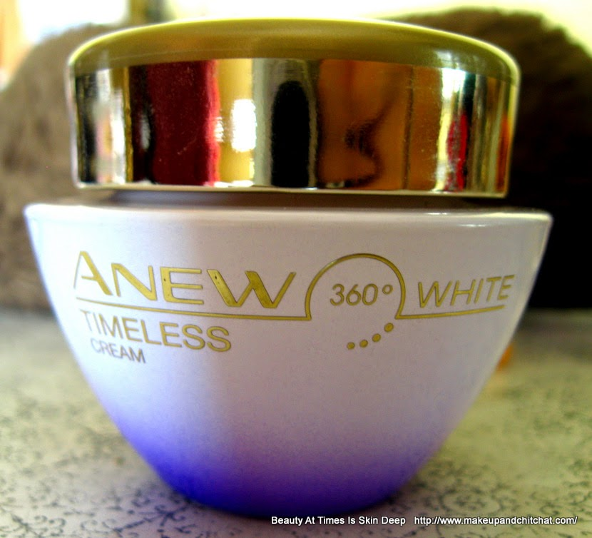 Avon Anew Timeless 360° White Cream review