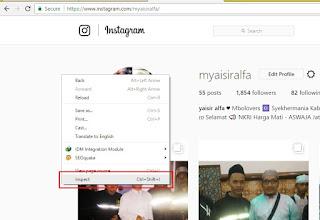 Cara Upload Foto ke Instagram dengan Komputer / Laptop Tanpa Emulator
