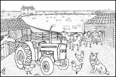 Ausmalbilder Zum Ausdrucken Ausmalbilder Bauernhof