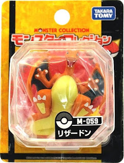 Charizard figure Takara Tomy Monster Collection M series