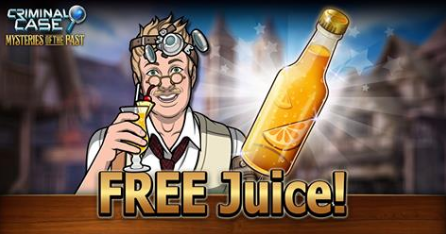 Criminal Case Nysteries Of The Past 👮 Free Orange Juice