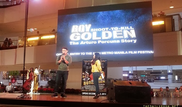"MMFF 2013: ""Boy Golden: The Arturo Porcuna Story"" Mall Tour"