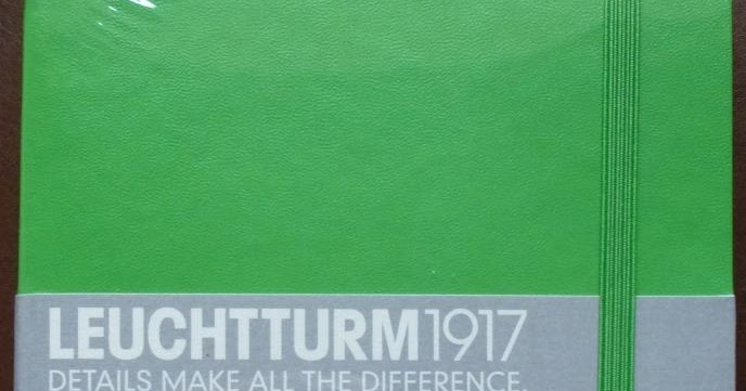 Leuchtturm lined slim softcover notebook