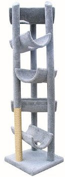 Tall and heavy cat tree suitable for a maine coon or couple of them