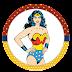 Mujer Maravilla Retro: Wrappers y Toppers para Cupcakes para Imprimir Gratis.