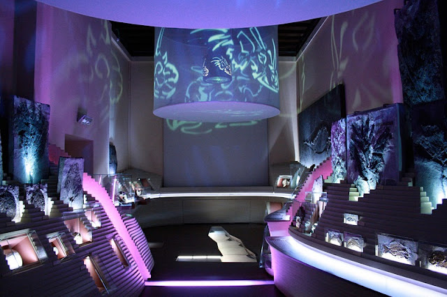 Interior do Museu de História Natural de Veneza