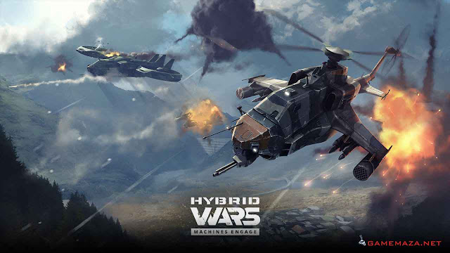 Hybrid Wars Gameplay Screenshot 4