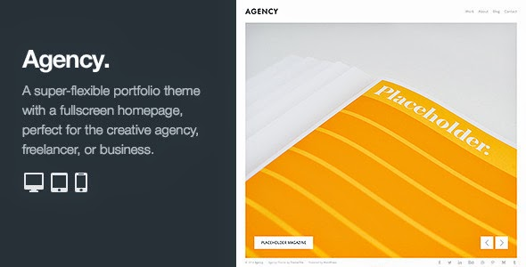 Premium WordPress Portfolio Template