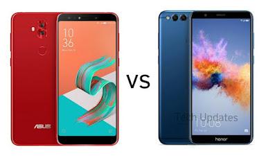 Asus Zenfone 5 Lite/Zenfone 5Q vs Honor 7X