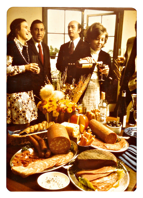 DiGiorno annual report cover photo from the 1970's. Godfrey Mezirka.