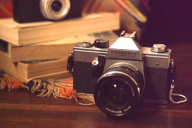 aparat analog praktica vintage