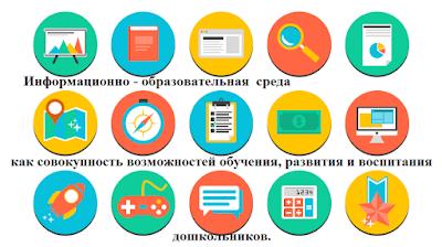 Информационно-образовательная среда как совокупность возможностей обучения, развития и воспитания дошкольников.