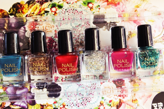 H&M nail polishes set