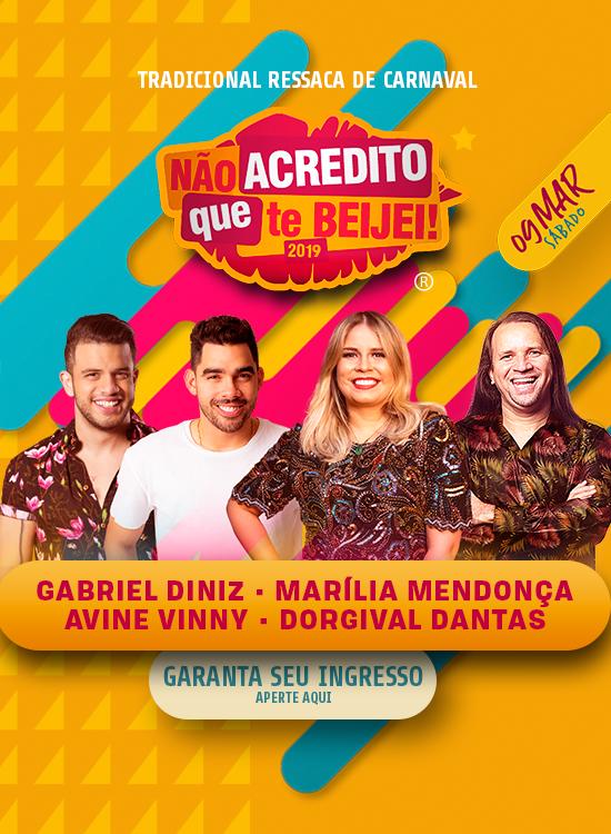 Dono do Hit do Verão volta ao Recife para o Não Acredito Que Te Beijei