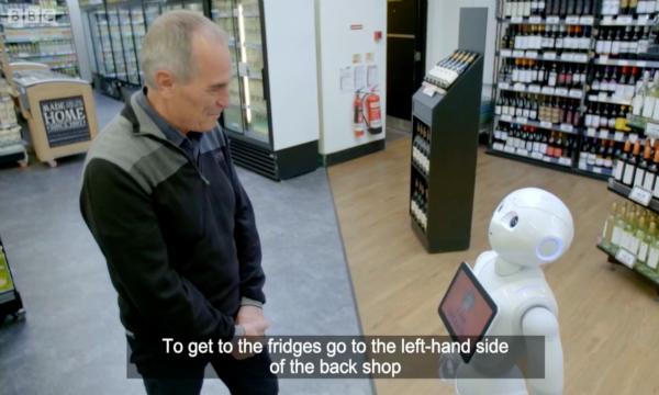 طرد أول روبوت يعمل كموظف في سوق تجاري!