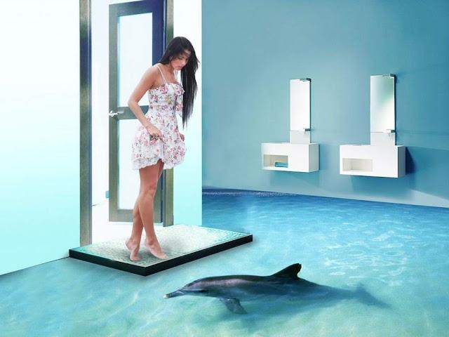 Наливные полы 3d с изображением мастика бпм цена