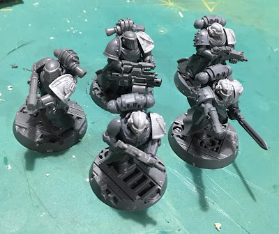 Heretic Astartes Kill Team WIP - The Fallen